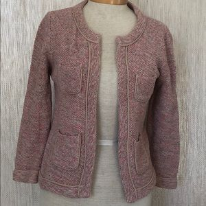 Loft Tweed sweater jacket